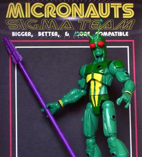 micronauts team sigma customcon  spring