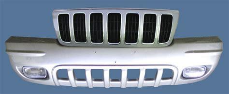 jeep grand cherokee wj grille  fascia removal