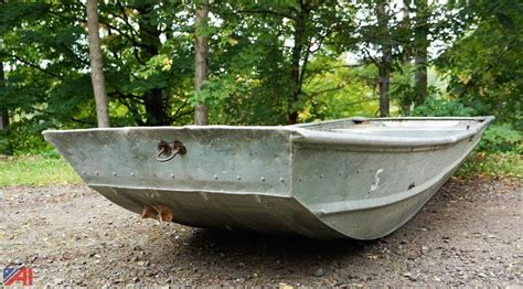 Sea Nymph Aluminum Jon Boats by Auctions International Auction Genesee County Fish