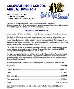 invitation letter reunion letters free sample letters With examples of family reunion invitation letter