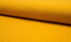 Pique Stoff Eigenschaften : waffel piqu baumwoll stoff meterware gelb baumwoll waffel pique ~ Frokenaadalensverden.com Haus und Dekorationen