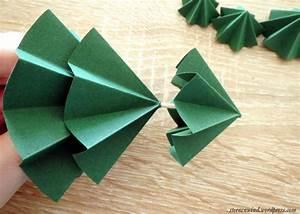 Papier Selber Machen : bild 6 tannenb ume aus papier falten ~ Lizthompson.info Haus und Dekorationen