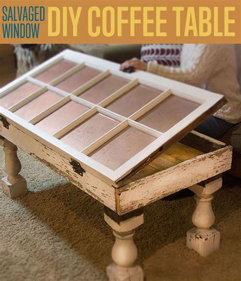 salvaged window diy coffee table unique coffee tables
