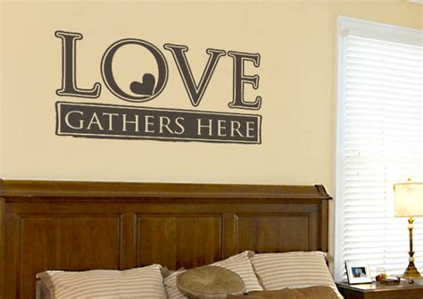 Most Romantic Wall Decal Love Quotes For Your Bedroom
