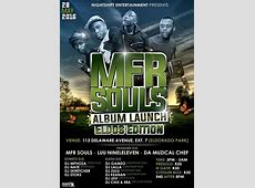 MFR Souls Album Tour at 113 Delaware Ave Ext 7 Eldorado