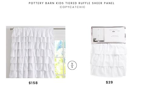 Pottery Barn Kids Tiered Ruffle Sheer Panel Curtain Rails For Bay Windows Homebase How To Block Light From Curtains Custom Made Shower Nz High Can You Hang Rods With Big Holes Embroidered Linen Fabric Australia Look Sheer Uk
