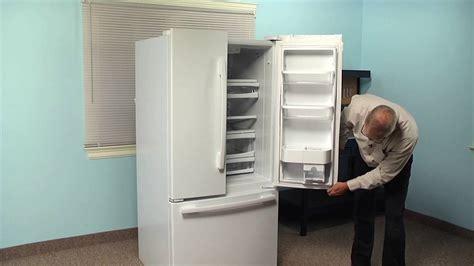 refrigerator repair replacing  door gasket whirlpool part  youtube