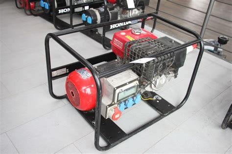 honda ect 7000 honda ect 7000 p electricity generator buy used for best value