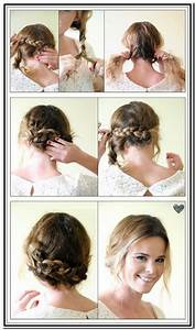 Hair Tutorial For Short Hair Hair Style And Color For Woman