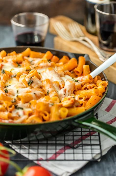Learn how to make chicken parm with a perfectly crisp, golden, breaded exterior and a moist interior, with all the right flavors and just the right amount of gooey cheese. Chicken Parmesan Pasta Skillet (One Pot) How To Video