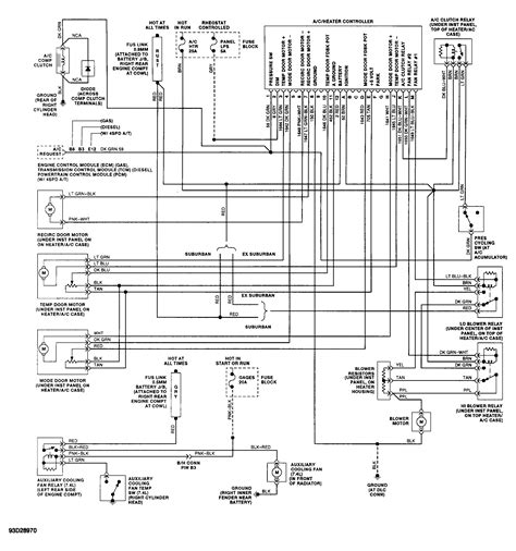 Automotive Wiring Diagram 1993 Chevy by Wrg 1056 1993 Chevy Wiring Diagram