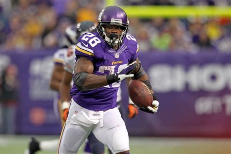 adrian peterson reaches  yards usa today sports wire