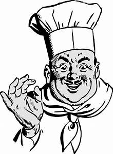 Cooking Clipart Black And White  Cooking Black And White