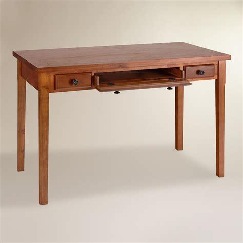 wood writing desk mahogany wood writing desk world market