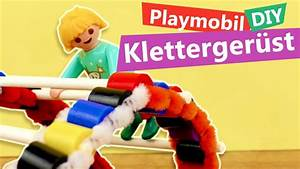 Playmobil DIY Spielplatz Idee Klettergerst Selber