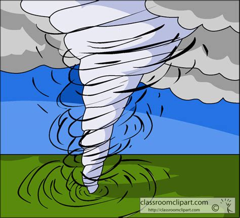 Clip Tornado Vector Art