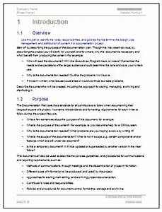 documentation plan template ms word With software application documentation template