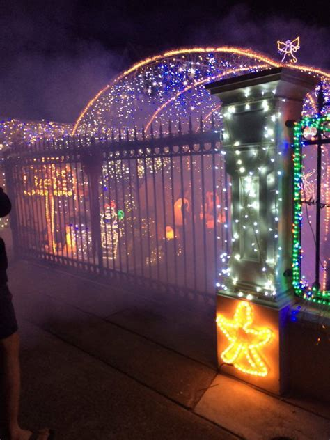 christmas lights and display in west hindmarsh adelaide