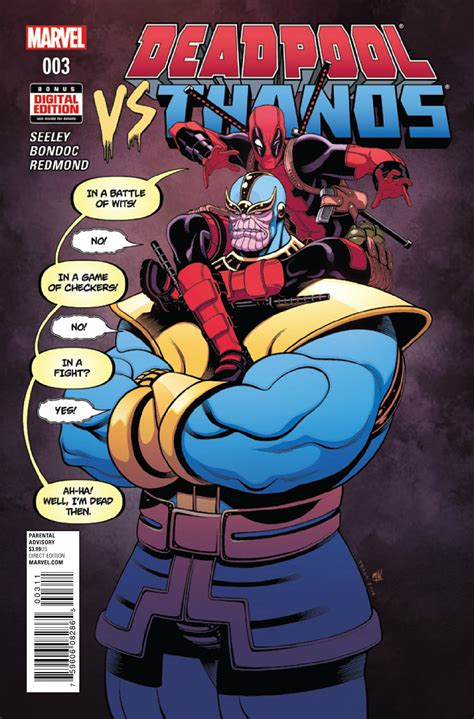 Deadpool Vs Thanos Vol 1 3  Marvel Database Fandom