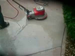 Used Concrete Floor Scrubber by Concrete Floor Grinder Youtube
