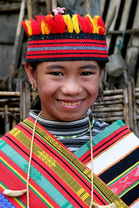 Asia Philippines Luzon Ifugao Teenage Girl The