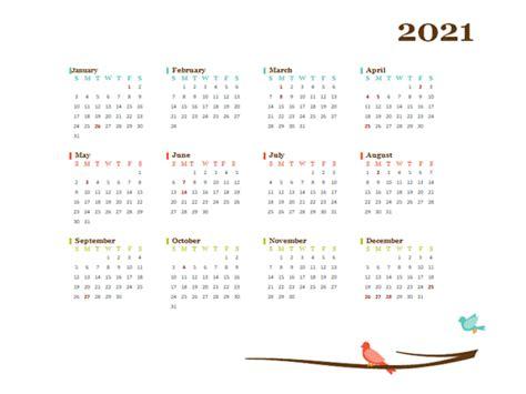 yearly australia calendar design template