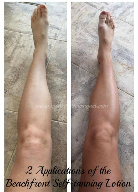 Banana Boat Self Tanning Lotion Before And After by Get A Beautiful Summer Sunkissed Look With Beachfront Self
