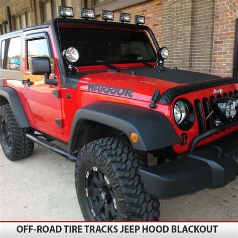 white jeep hood jeep wrangler jk blackout hood alphavinyl