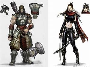 The Elderly Gamer: Untold Legends: Dark Kingdom Concept Art