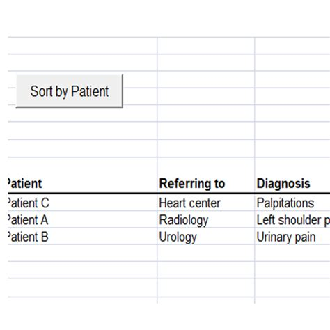 Patient Referral Tracking Template