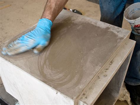 how to fill holes in concrete countertops how to concrete countertops concrete exchange