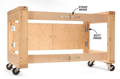 build  folding work table