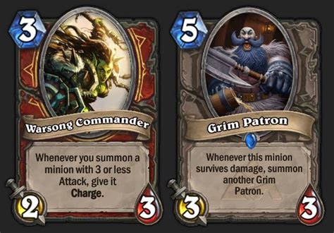 hearthstone decks warrior grim patron a guide to the top decks in professional hearthstone