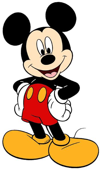 Mickey Mouse Clipart Characters Mickey Mouse And Friends