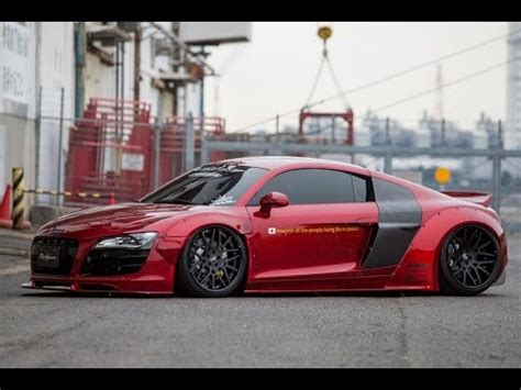 2016 Audi R8 Coupe Custom By Liberty Walk Youtube