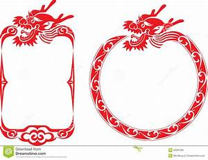 Chinese Dragon Border Illustrations Royalty Free Stock ...
