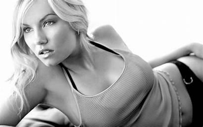 Female Wallpapers Elisha Cuthbert Celebrity Grayscale Myspace