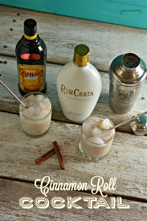 Cinnamon Roll Cocktail   The Farmwife Drinks