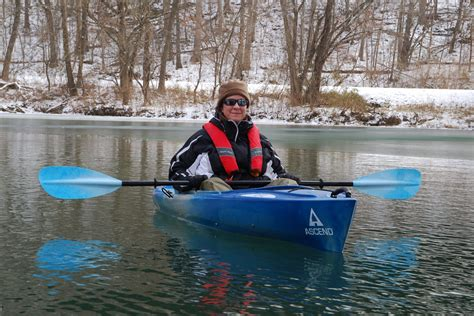 Preparing your kayak for winter paddling - Ozarks Walkabout