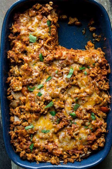 Green chile, diced 12 corn tortillas 1 lb. Layered chicken enchilada casserole   Recipe   Enchilada ...