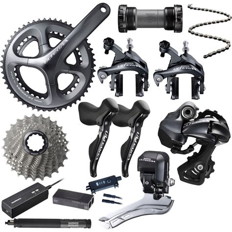 wiggle shimano ultegra 6870 di2 11 speed groupset groupsets build kits