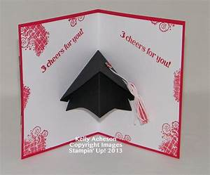 graduation pop up card by technique freak at With graduation pop up card template