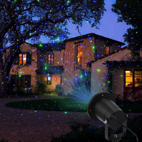 outdoor laser lights for christmas laser lights outdoor decoration lighting waterproof green ebay