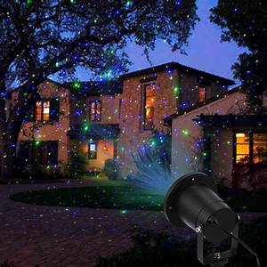 Laser, Lights, Outdoor, Holiday, Decoration, Christmas, Lighting, Waterproof, Red, Green