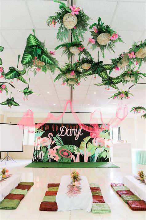 Kara's Party Ideas Tropical Flamingo Paradise Party Kara