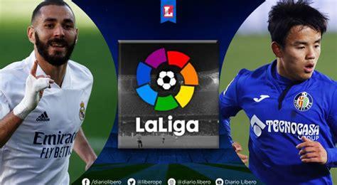 Real Madrid vs Getafe EN VIVO Movistar LaLiga Hora Canal ...