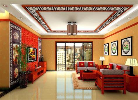 5 Desain Rumah Ruang Tamu Dengan Plafon Gypsum Menarik Dan