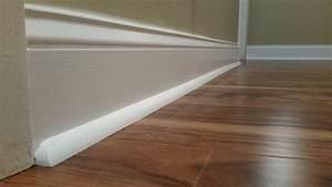 Installing quarter round floor trim gurus floor for How to cut floor molding