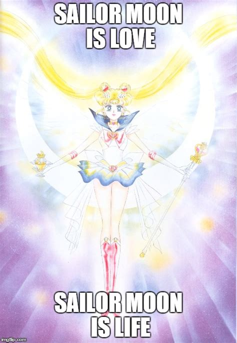 Sailor Moon Memes - sailor moon is love imgflip