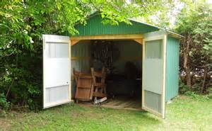 Back Yard Shed Door